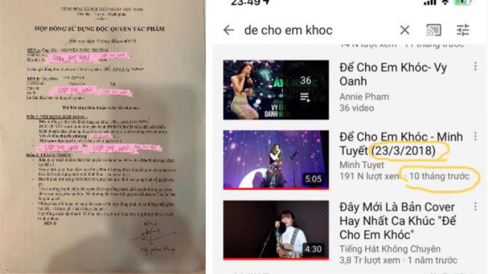 Giữa 'tâm bão' drama, Vy Oanh bất ngờ bị dân mạng đào lại phốt 'tố' đàn chị Minh Tuyết 'cướp hit' Ảnh 5