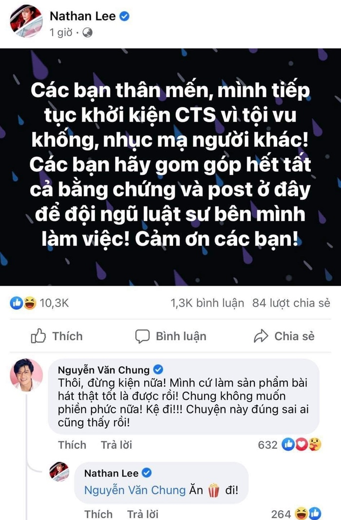 Nathan Lee tuyên bố khởi kiện Cao Thái Sơn, Nguyễn Văn Chung có phát ngôn gây chú ý Ảnh 3