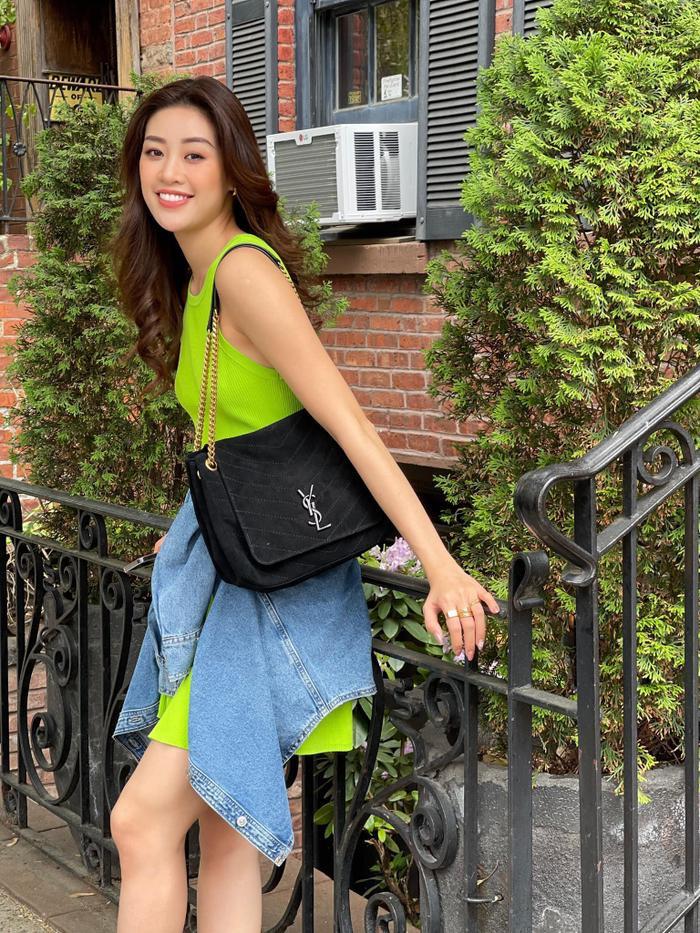 Hoa hậu Khánh Vân với streetstyle giản dị nhưng vẫn sáng bừng đường phố New York Ảnh 7