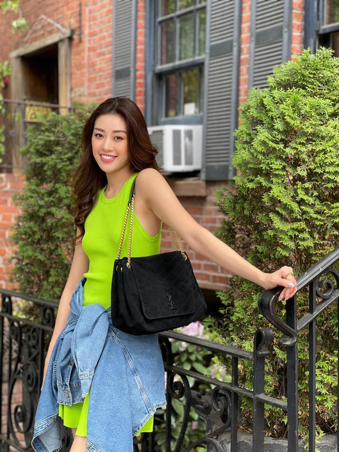 Hoa hậu Khánh Vân với streetstyle giản dị nhưng vẫn sáng bừng đường phố New York Ảnh 6