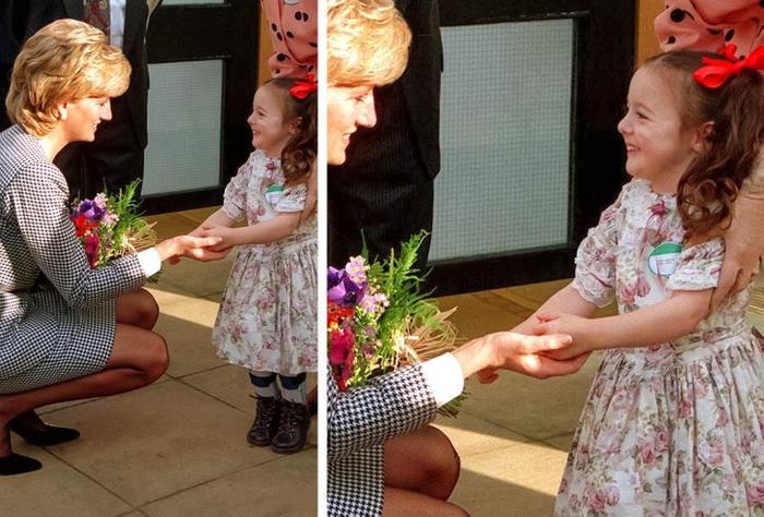 Lý do Công nương Diana luôn nhìn ngang tầm mắt khi nói chuyện với trẻ em Ảnh 1