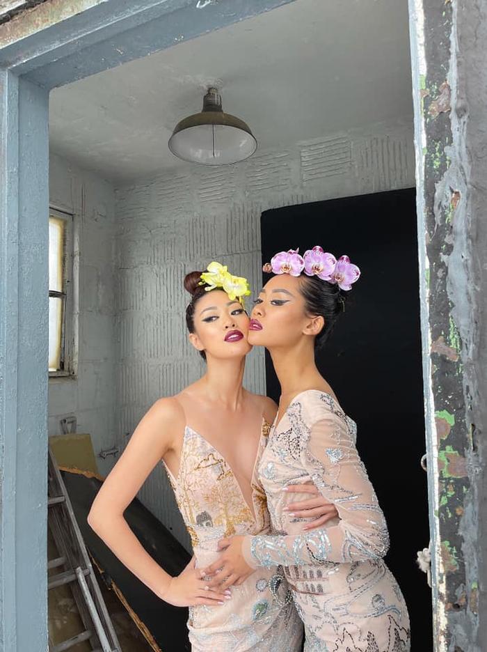 Khánh Vân đọ sắc với Miss Malaysia trong bộ ảnh mới, khoe trọn vẻ đẹp Á châu cực cuốn hút Ảnh 4