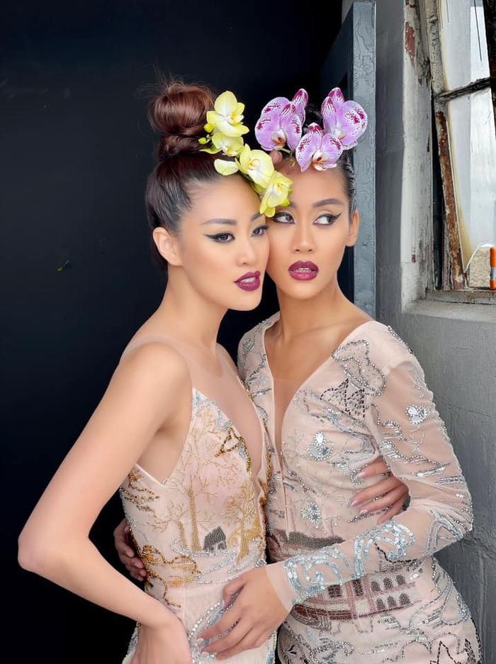Khánh Vân đọ sắc với Miss Malaysia trong bộ ảnh mới, khoe trọn vẻ đẹp Á châu cực cuốn hút Ảnh 6