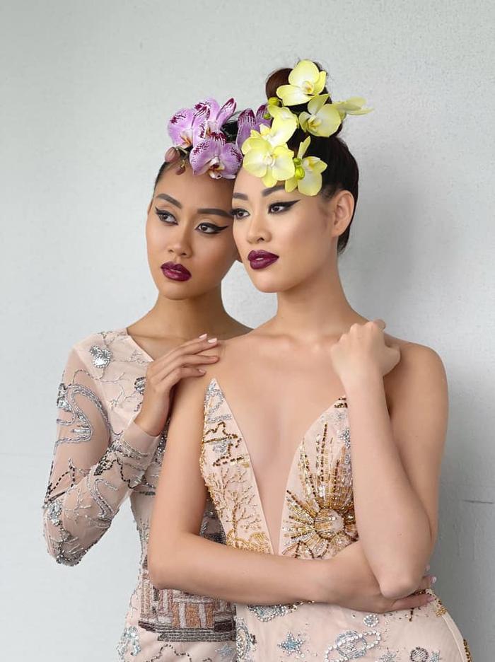 Khánh Vân đọ sắc với Miss Malaysia trong bộ ảnh mới, khoe trọn vẻ đẹp Á châu cực cuốn hút Ảnh 1