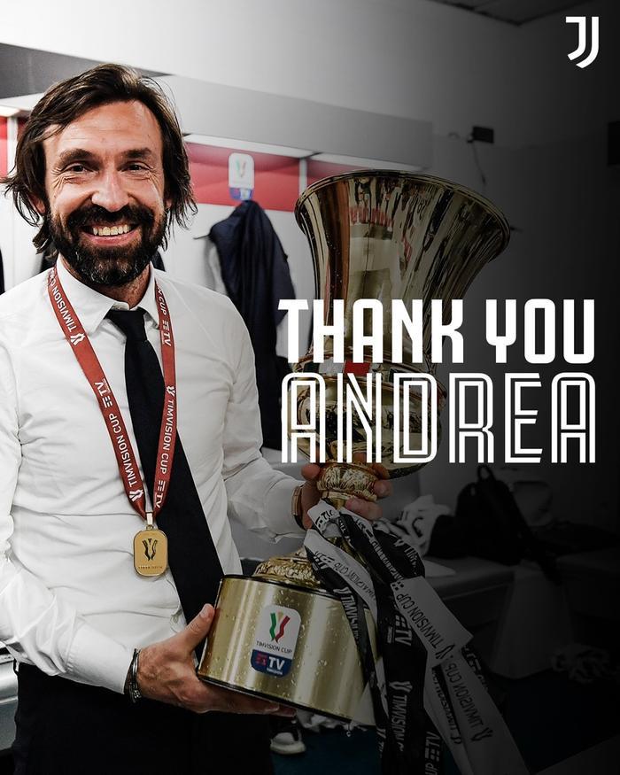 Chính thức: Juventus sa thải Pirlo Ảnh 1