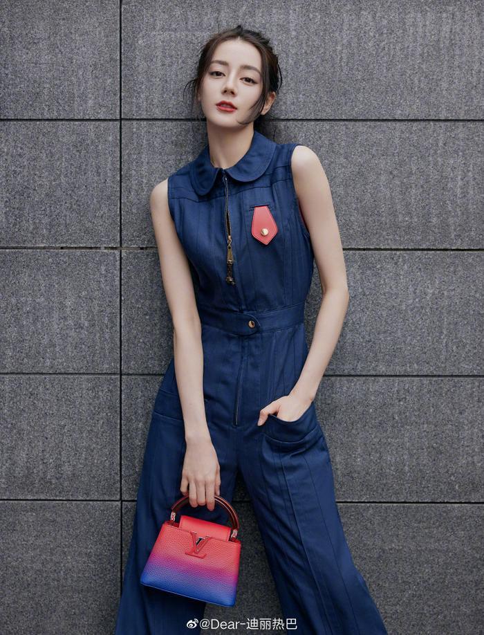 Lưu Diệc Phi lấn át Địch Lệ Nhiệt Ba trong loạt ảnh thời trang mới nhất chứng minh vị trí độc tôn Ảnh 5