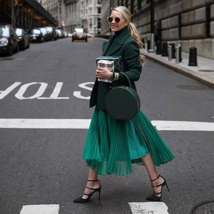 Mách nàng bí quyết phối đồ với màu xanh lá chuẩn như fashionista Ảnh 10