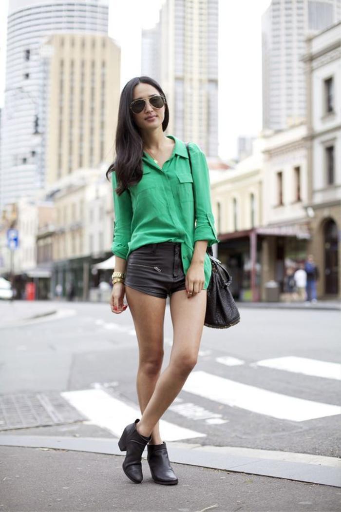 Mách nàng bí quyết phối đồ với màu xanh lá chuẩn như fashionista Ảnh 14