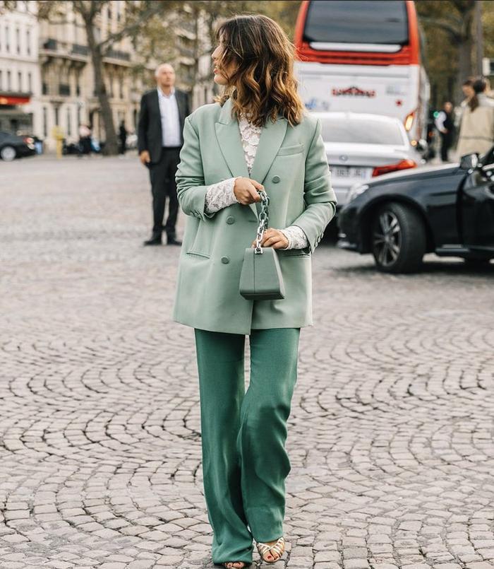 Mách nàng bí quyết phối đồ với màu xanh lá chuẩn như fashionista Ảnh 11