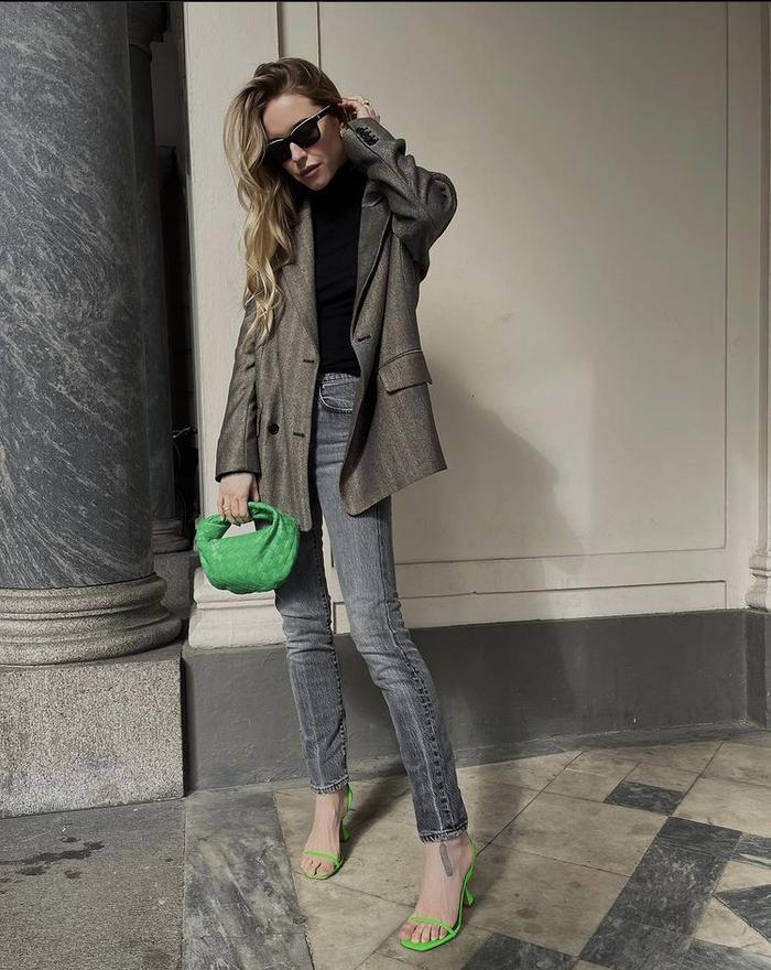 Mách nàng bí quyết phối đồ với màu xanh lá chuẩn như fashionista Ảnh 5