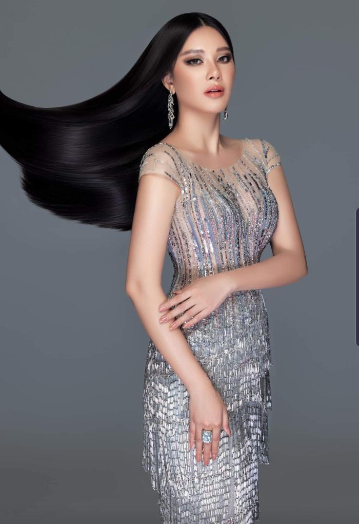 Kim Duyên úp mở đầm dạ hội tại Miss Universe 2021, fan thốt lên sao chơi khó vậy? Ảnh 7