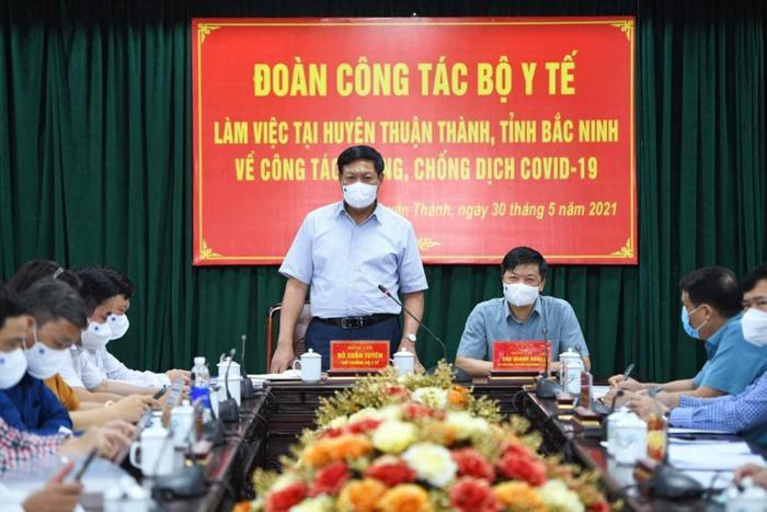 Chống dịch hiệu quả tại huyện Thuận Thành là chìa khoá khống chế dịch tại Bắc Ninh Ảnh 1