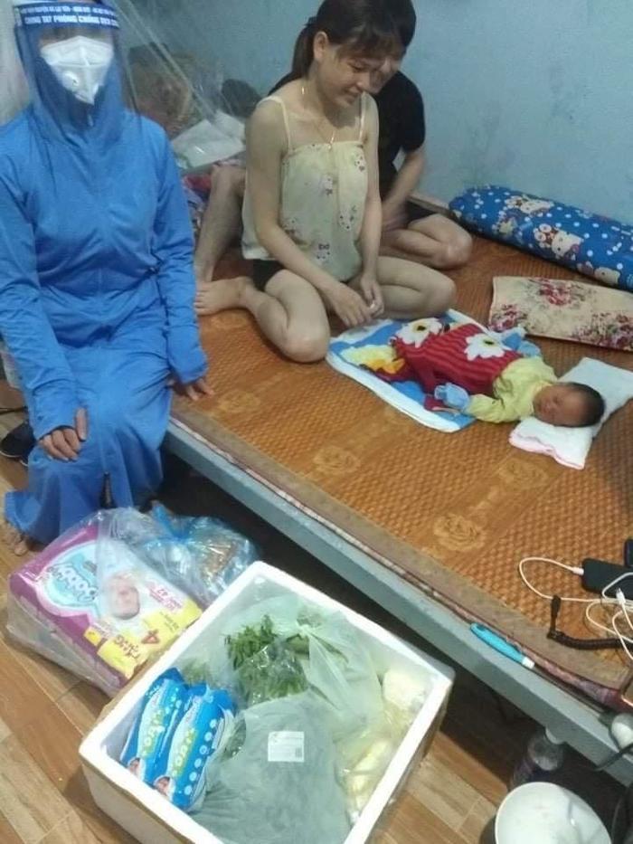 Sinh con trong phòng trọ ở khu cách ly xã hội, nữ công nhân được chủ nhà trọ đỡ đẻ thành công Ảnh 2