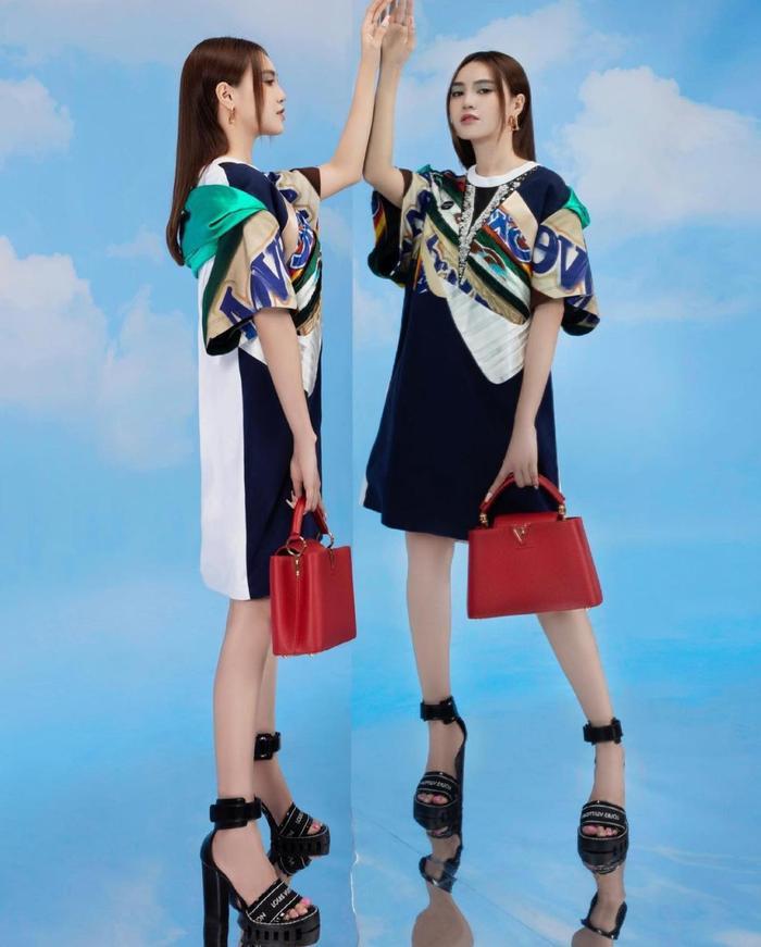Ninh Dương Lan Ngọc ăn diện sang chảnh chả kém cạnh fashionista thế giới nào Ảnh 3