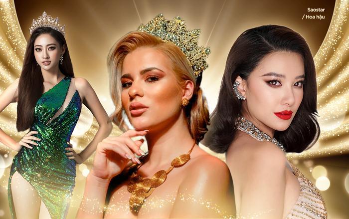 Đại diện Hy Lạp đối đầu với Kim Duyên ở Miss Universe: Từng bại trận trước Lương Thùy Linh ở Miss World Ảnh 1