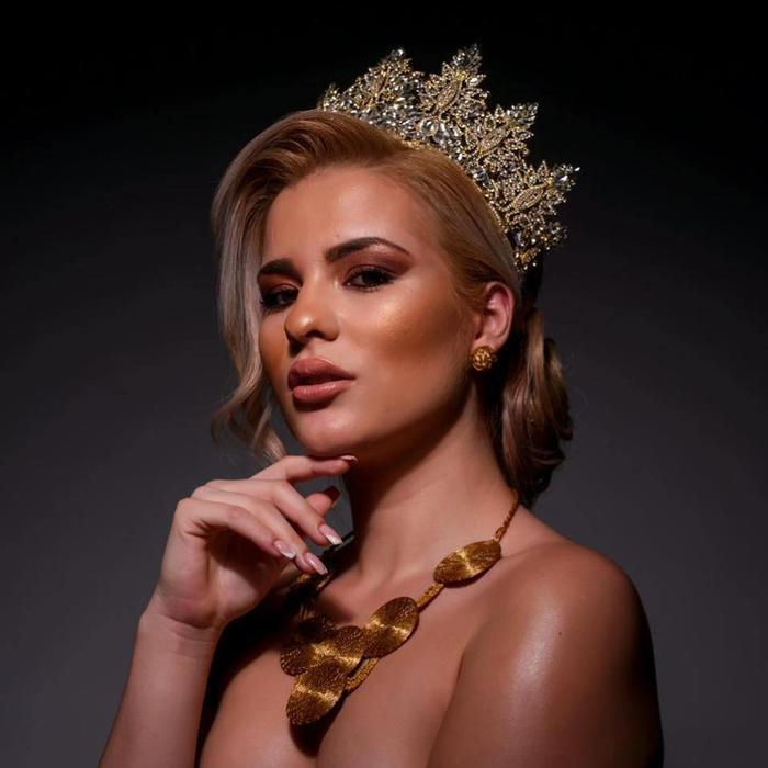 Đại diện Hy Lạp đối đầu với Kim Duyên ở Miss Universe: Từng bại trận trước Lương Thùy Linh ở Miss World Ảnh 7