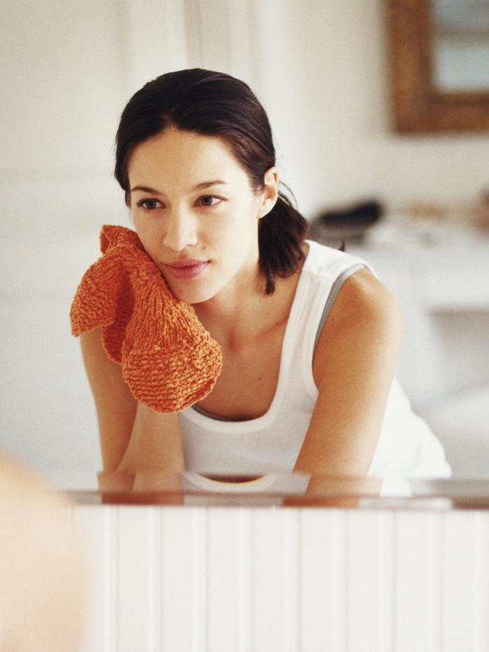 Bí quyết chống lão hóa da bằng khăn nóng Ảnh 1