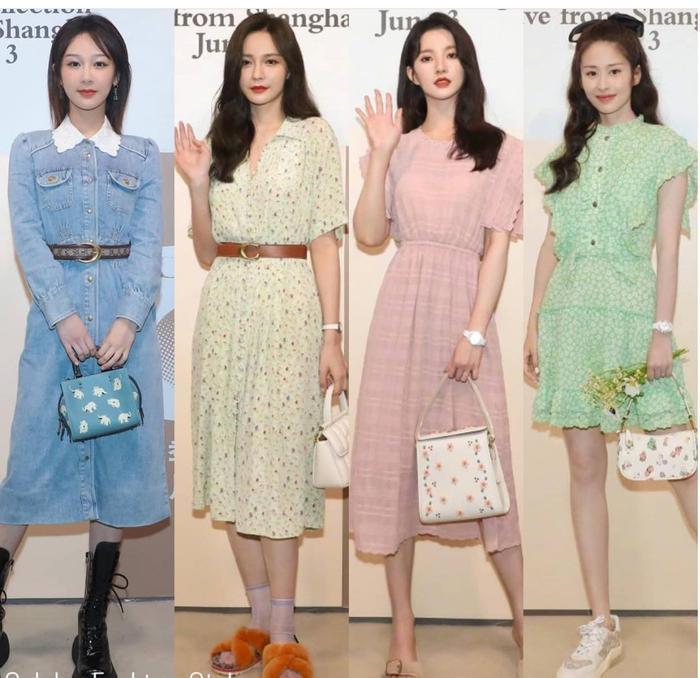 Dương Tử xuất hiện nhạt nhòa với trang phục denim tại show thời trang Ảnh 4