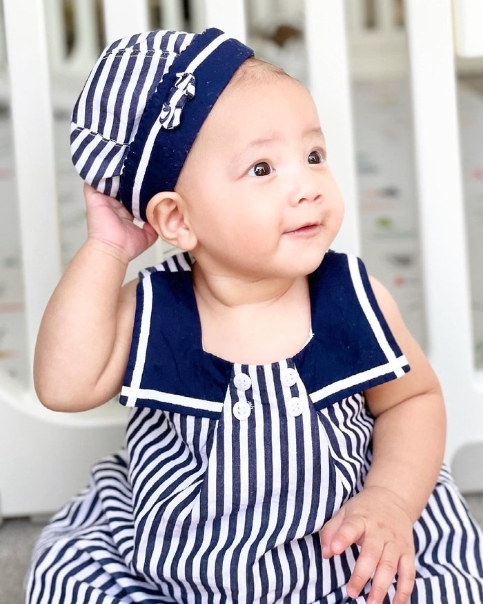 Hà Hồ mừng Lisa - Leon tròn 7 tháng tuổi: 'Bọn con biết ngồi và biết làm nhiều trò rồi' Ảnh 9