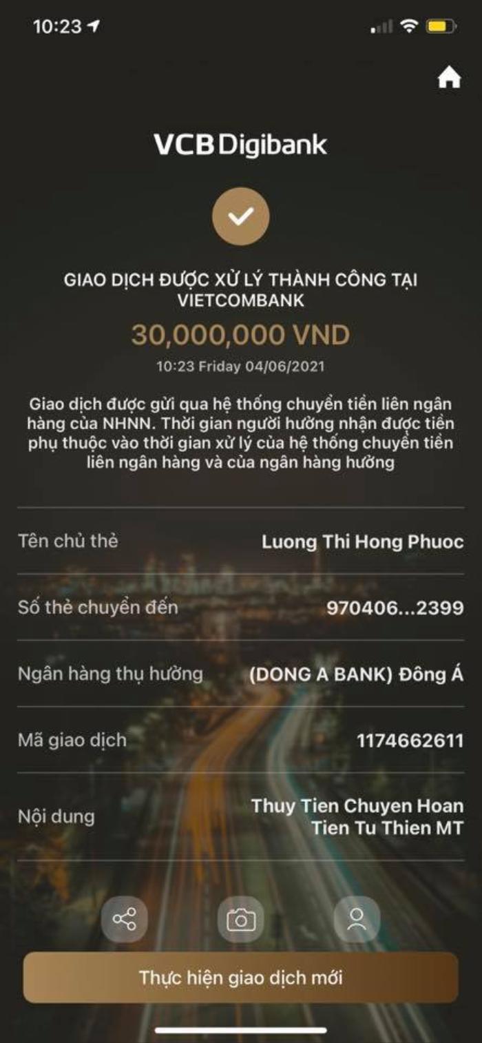 Thuỷ Tiên lên tiếng xin lỗi vụ chuyển nhầm số tiền 30 triệu Ảnh 5