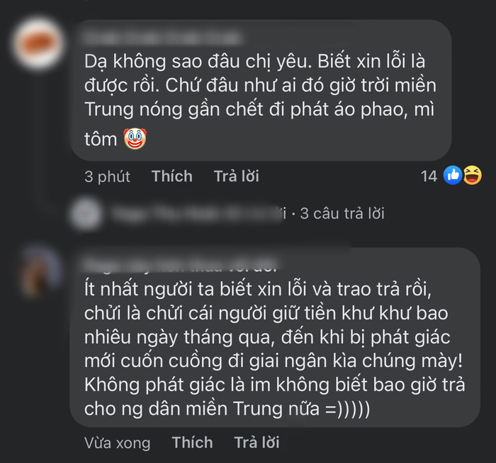Netizen phản ứng trước lời xin lỗi của Thuỷ Tiên: Người ủng hộ, kẻ mỉa mai Hoài Linh, Công Vinh Ảnh 5
