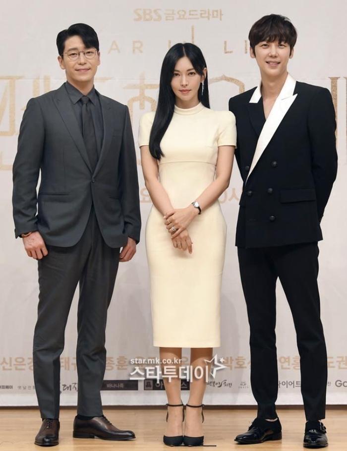 Họp báo 'Penthouse 3': Kim So Yeon xinh đẹp bên 2 chồng, Lee Ji Ah 'mém vồ ếch' Ảnh 7