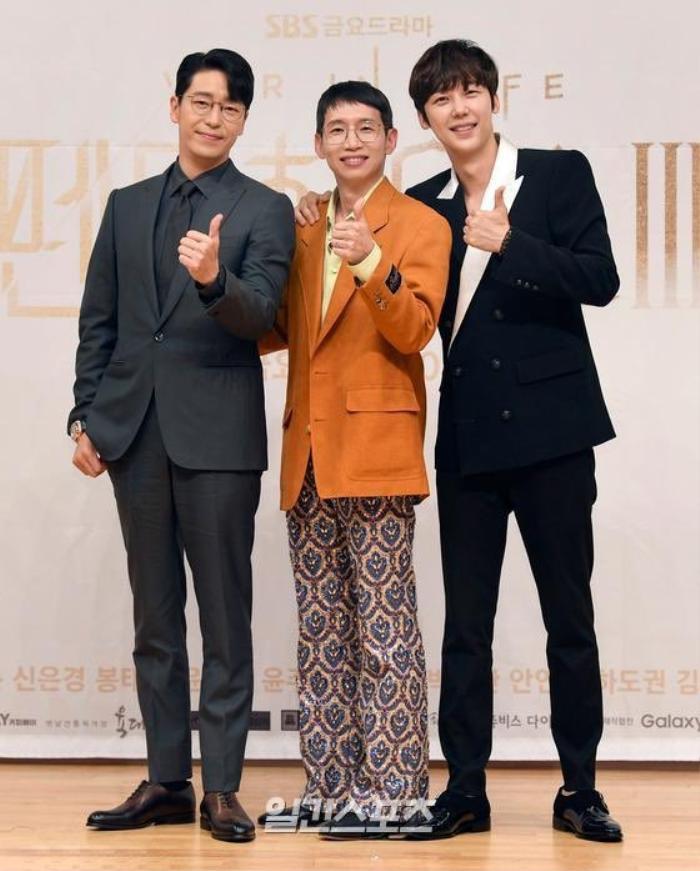 Họp báo 'Penthouse 3': Kim So Yeon xinh đẹp bên 2 chồng, Lee Ji Ah 'mém vồ ếch' Ảnh 6