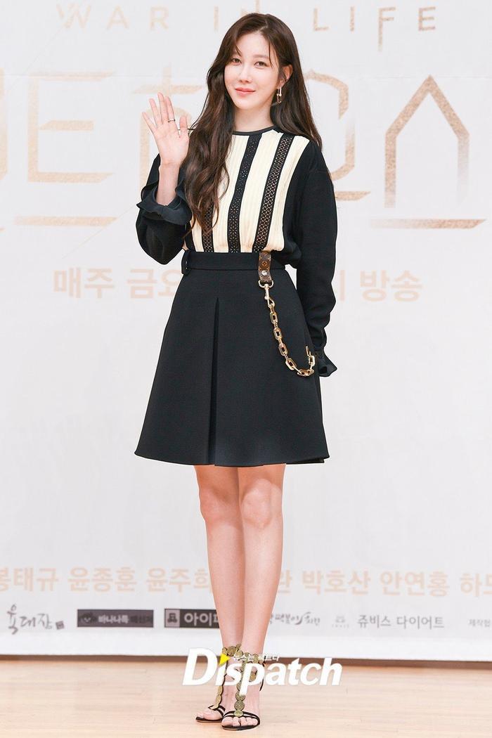 Họp báo 'Penthouse 3': Kim So Yeon xinh đẹp bên 2 chồng, Lee Ji Ah 'mém vồ ếch' Ảnh 3