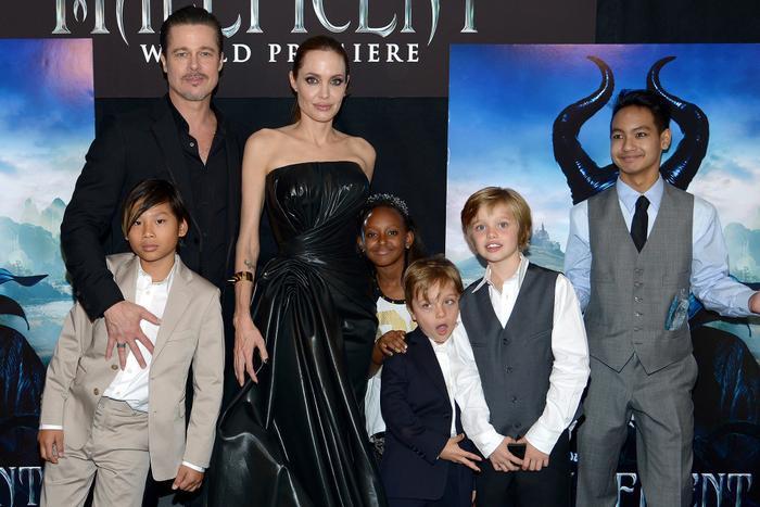 Angelina Jolie giận dữ vì Brad Pitt giành được quyền nuôi con Ảnh 1