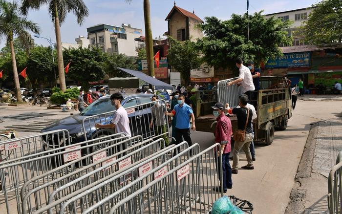 Phong toả thêm gần 11.000 người tại TP Bắc Ninh và huyện Quế Võ Ảnh 1