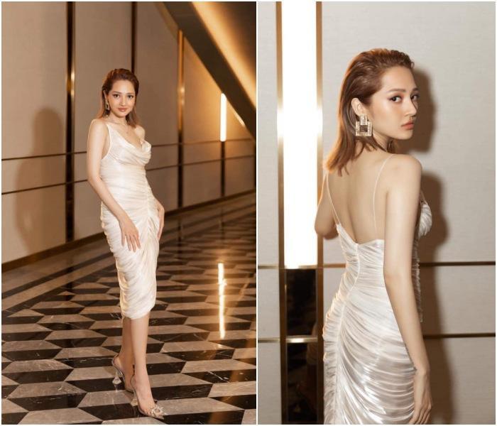 'Cuộc chiến váy áo' của Mai Phương Thúy, Hoàng Thùy, Bảo Anh, mỹ nhân nào sáng nhất? Ảnh 4