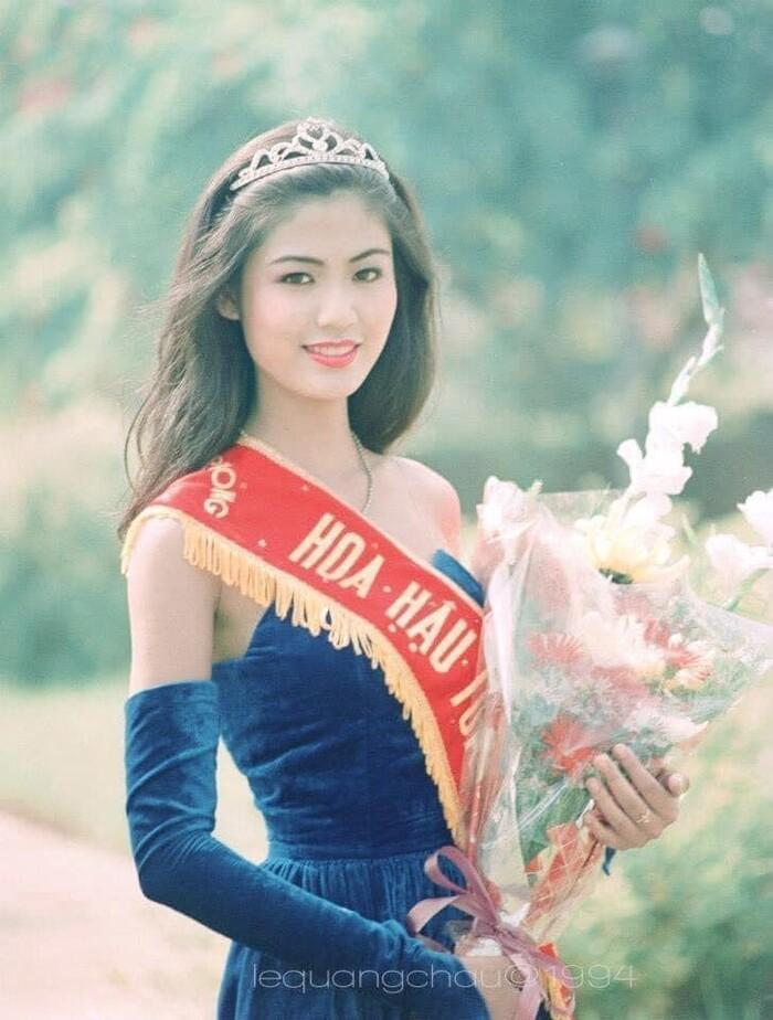Hoa hậu Việt Nam 1994 Thu Thủy xuất thân danh giá, tình duyên trắc trở Ảnh 2