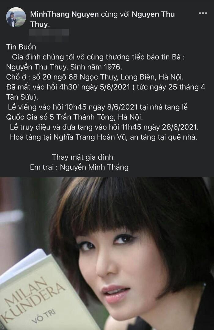 Hoa hậu Việt Nam 1994 Thu Thủy xuất thân danh giá, tình duyên trắc trở Ảnh 1