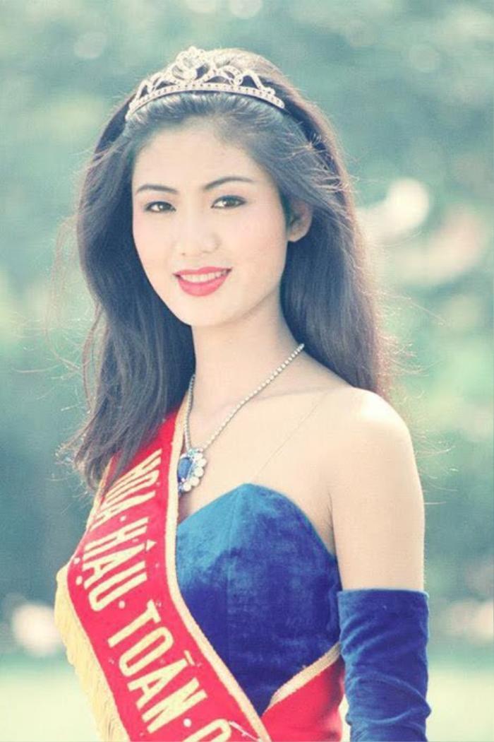 Nhan sắc Hoa hậu Thu Thủy - vẻ đẹp 'lão hóa ngược' mãi trong lòng người hâm mộ Ảnh 3