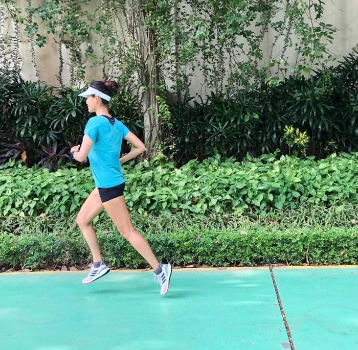 Hoa hậu Nguyễn Thu Thủy đam mê tập luyện không chỉ để giữ dáng mà còn 'truyền lửa' cho bao người Ảnh 2