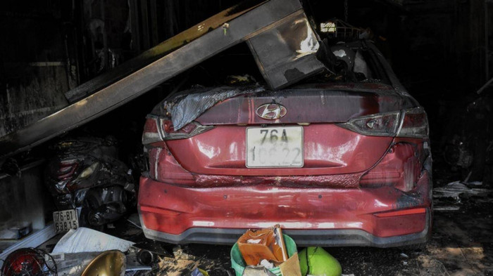 Vụ cháy khiến 4 người tử vong: Xót xa cuộc điện thoại cuối cùng 'Ba ơi, qua cứu chúng con với...' Ảnh 3
