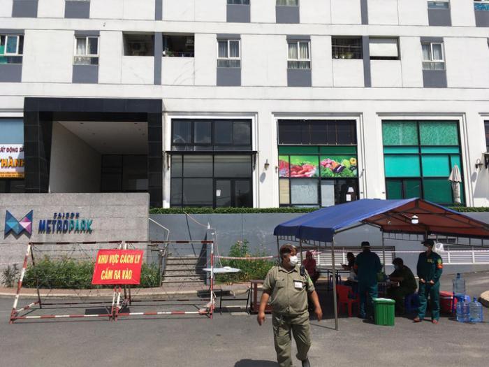 TP. Thủ Đức: Chung cư Sài Gòn Metro Park bị phong tỏa vì liên quan đến ca nhiễm Covid- 19 Ảnh 1