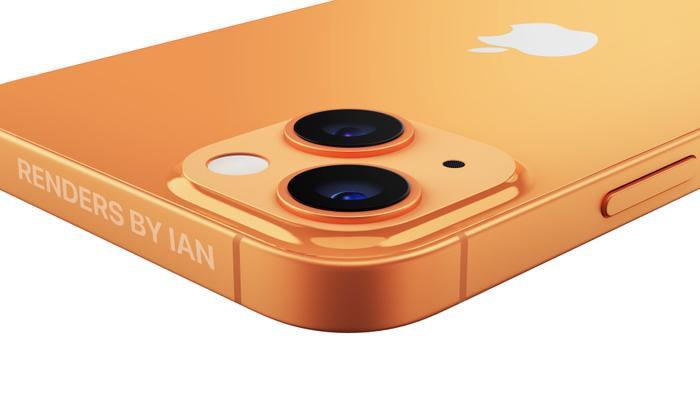 iPhone 13 màu cam đẹp ngất ngây, độc lạ bất ngờ với camera xếp chéo Ảnh 8