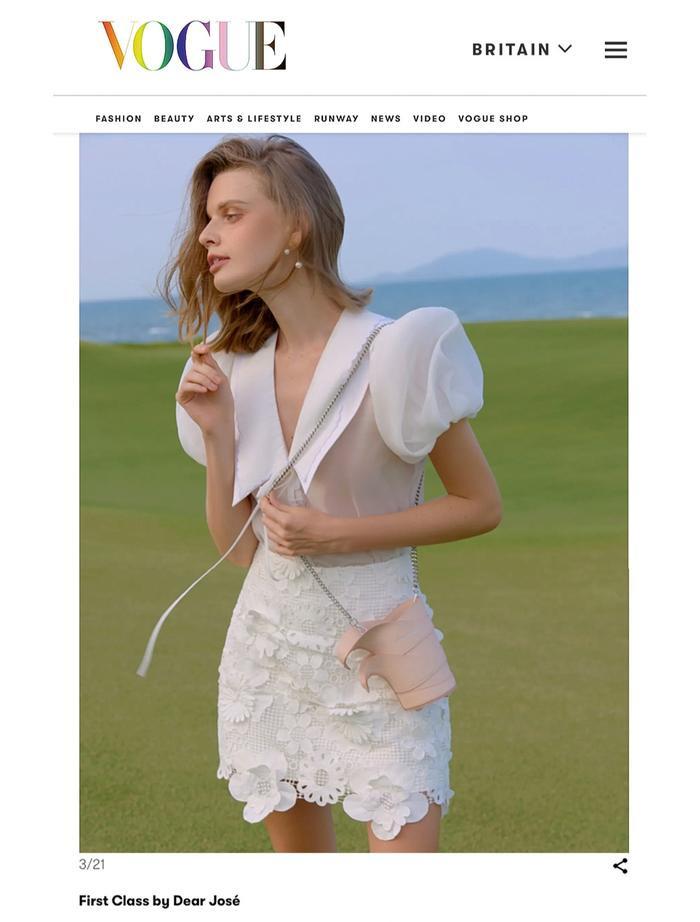 Sáng tạo của NTK Việt được vinh danh trên Vogue Anh Ảnh 2