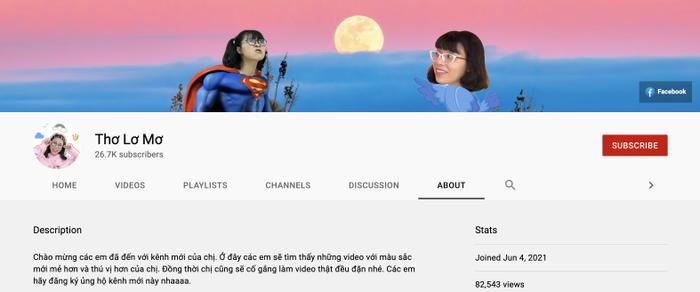 Thơ Nguyễn lập thêm kênh YouTube, đổi nghệ danh dù mới ngày nào từng khóc lóc xin giải nghệ Ảnh 5