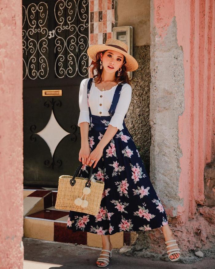 5 kiểu váy hoa 'kinh điển' không thể bỏ qua trong mùa hè Ảnh 9