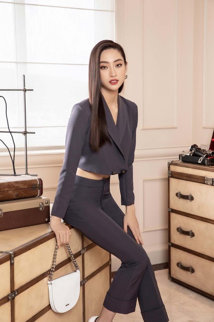 Lương Thuỳ Linh lột xác với hình tượng girl boss, 'soái tỷ' làng giải trí là đây! Ảnh 9