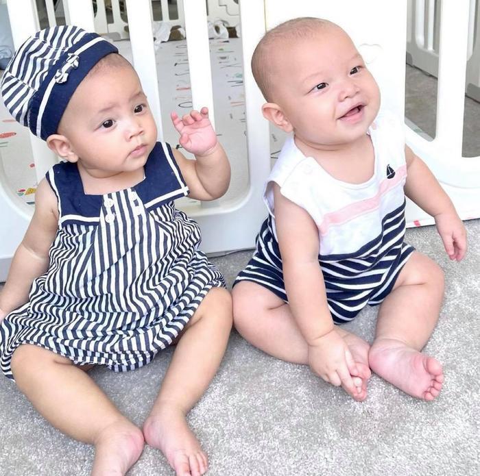 Hồ Ngọc Hà đặt tên mới cho 2 nhóc tì Lisa - Leon, tưởng không hợp nhưng hợp không tưởng Ảnh 5