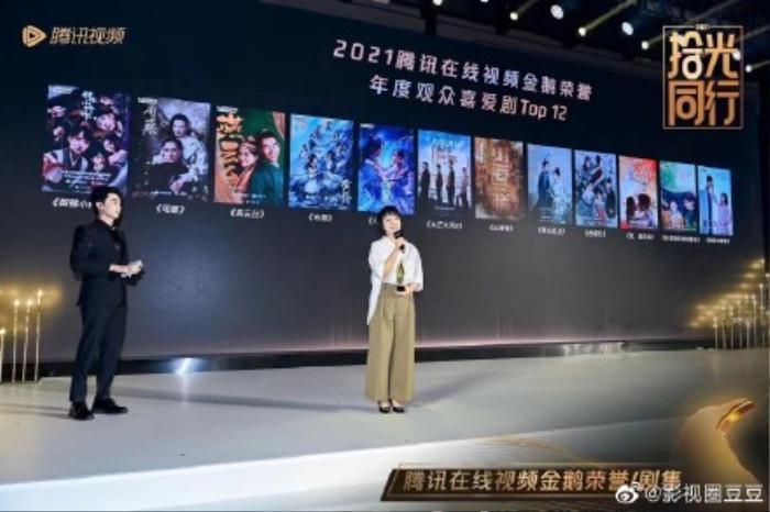 Lễ trao giải Thập quang thịnh điển: Vượt qua 'Đấu la đại lục', 'Cẩm tâm tựa ngọc' là phim hay nhất năm