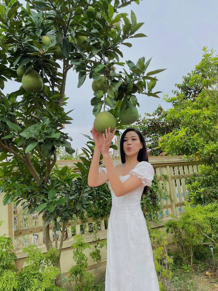Đỗ Thị Hà nhận cơn mưa lời khen vì nhan sắc xinh đẹp khi khoe ảnh chụp tại nhà Ảnh 9