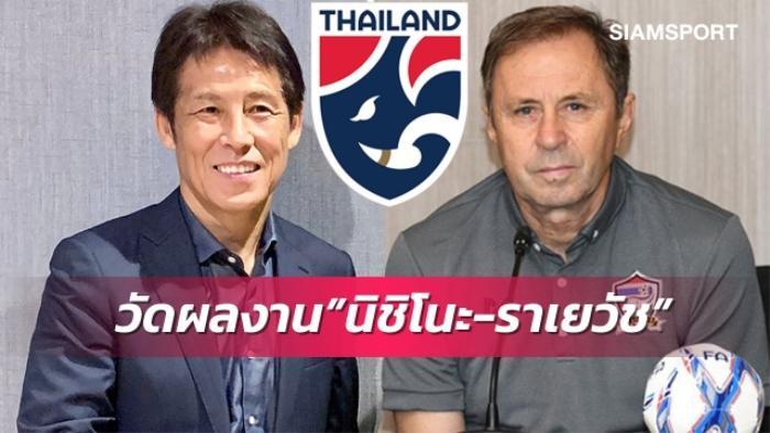 HLV Nishino có thành tích cực tệ với tuyển Thái Lan Ảnh 1