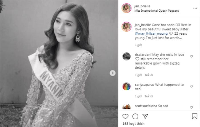 Bản sao Hương Giang - Vicky Trần - Hoài Sa đau buồn về cái chết của Hoa hậu Chuyển giới Myanmar Ảnh 7