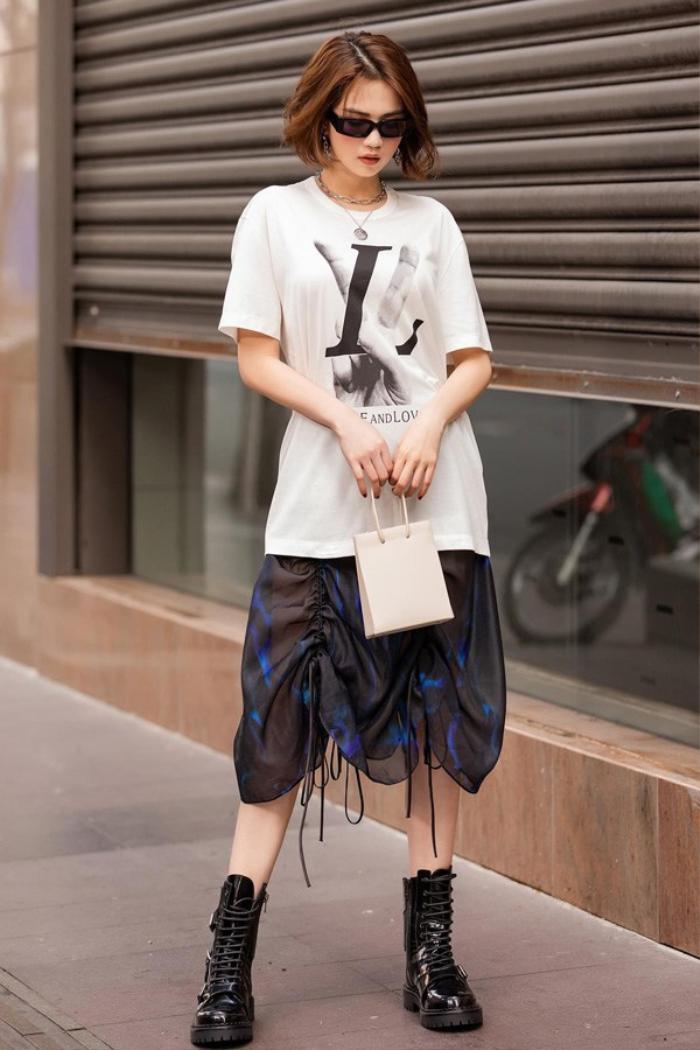 'Nữ hoàng nội y' Ngọc Trinh có sở thích thời trang kì lạ, fan ngã ngửa nhưng vẫn gật gù quá đẹp Ảnh 5