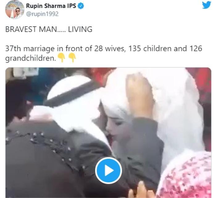 Người đàn ông kết hôn lần thứ 37 trước mặt 28 người vợ, 135 người còn và 126 người cháu Ảnh 2
