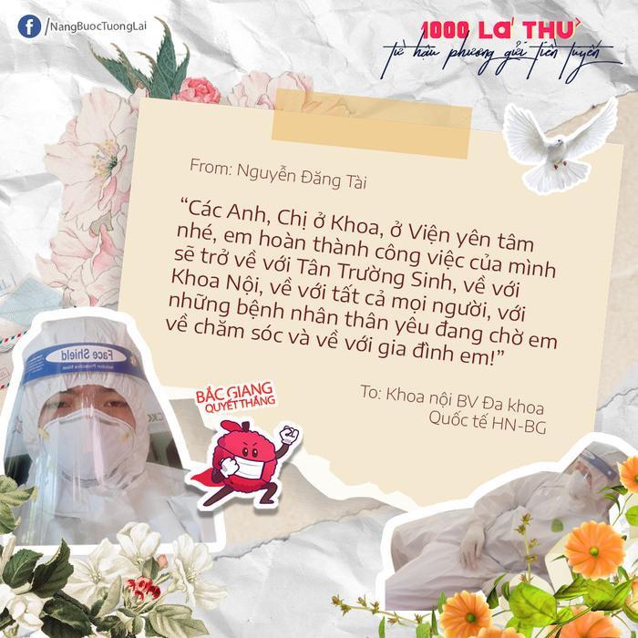 Nghìn yêu thương gửi tâm dịch Bắc Giang Ảnh 11